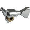Tuner - Hipshot, Open Gear Classic, Nickel (Individual) image 1
