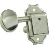 Tuner - Kluson, Oval, 3 per side, Nickel image 2