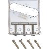 Bridge - Fender®, 3-Saddle, for Vintage Telecaster, Chrome image 2