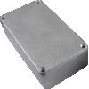 "Chassis Box - Hammond, Diecast Aluminum, 4.37"" x 2.37"" x 1.22"" image 1"