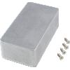 "Chassis Box - Hammond, Unpainted Aluminum, 4.4"" x 2.3"" x 1.5"" image 1"
