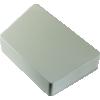 "Chassis Box - Hammond, Diecast, 3.74"" x 5.95"", Trapezoid image 2"