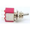 Switch - Carling, Mini Toggle, SPDT, 2 Position, Solder Lugs, Short Bat image 1