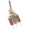 Switch - Carling, Mini Toggle, DPDT, 2-Position, PC Pins image 1