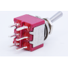 Switch - Carling, Mini Toggle, DPDT, 2-Position, PC Pins image 4