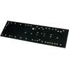 Turret Board - Black, 2mm, Loaded with 33 Turrets, 230mm x 70mm image 2
