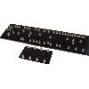 Turret Board - Black, 2mm, 5F6A Layout, 2 pcs image 1