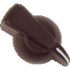 Knob - Chicken Head, Push-On, for knurled shaft image 5