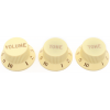 Knobs - Fender®, Stratocaster, 1 Volume, 2 Tone image 2