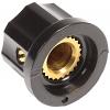 "Knob - Plastic, Set Screw, MXR Style, 0.755"" Diameter image 2"