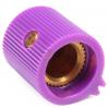 """Knob - Plastic, Set Screw, Vertical Pointer, 0.51"""" Diameter image 2"""