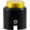 "Knob - Loknob, Large Series, 3/4"" Outer Diameter, Black / Gold image 2"