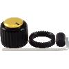 "Knob - Loknob, Large Series, 3/4"" Outer Diameter, ABS image 1"