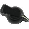Knob - Chicken Head, Push-On, for knurled shaft image 3