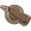 Knob - Chicken Head, Push-On, for knurled shaft image 7