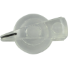 Knob - Chicken Head, Push-On, for knurled shaft image 9