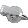 Knob - Chicken Head, Push-On, for knurled shaft image 17