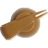 Knob - Chicken Head, Push-On, for knurled shaft image 18