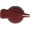 Knob - Chicken Head, Push-On, for knurled shaft image 20
