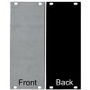 Panel - Eurorack Blanks, Reversible Black / Aluminum, 1.6mm image 9