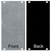 Panel - Eurorack Blanks, Reversible Black / Aluminum, 1.6mm image 10