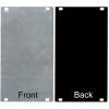 Panel - Eurorack Blanks, Reversible Black / Aluminum, 1.6mm image 11