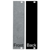 Panel - Eurorack Blanks, Reversible Black / Aluminum, 1.6mm image 7