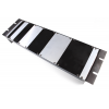 Panel - Eurorack Blanks, Reversible Black / Aluminum, 1.6mm image 2