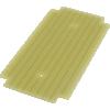 ProtoBoard - Fits 1590B, 1 sided, 2-hole strips image 1
