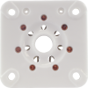 Socket - 7 Pin, Large, Ceramic for 813, Chinese image 2