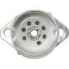 Socket - 7 Pin, Miniature, Ceramic, with Aluminum Shield image 3