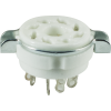 Socket - 8 Pin Octal, Ceramic, with Separate Retaining Ring image 1