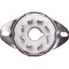 "Socket - 8 pin octal, Fork Connectors, 1"" with Bracket image 2"