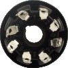 """Socket - 8 Pin, 1.14"""" mounting hole image 3"""