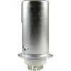 Socket - 9 Pin Miniature, Ceramic Base, Aluminum Shield image 1