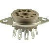 Socket - Belton, 9 Pin, Miniature, Top Mount image 1