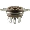 Socket - Belton, 9 Pin, Miniature, Bottom Mount image 1