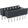 IC Socket - Dual in-line package, 2.54mm Pitch, 7.62mm Spacing image 4
