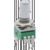 Potentiometer - Alpha, Audio, 9mm, Vertical, 11 Detents, 100K image 1
