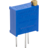 Trimmer - Bourns, 3296Y, Multiturn, Top Adjust, PCB Mount image 1