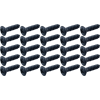 """Screw - #4 x ½"""", Oval Head, Sheet Metal, Black Oxide image 1"""