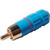 RCA Plug - Blue, Ceramic image 2