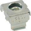 Nut - Cage, Zinc, 10-32, Electroplate Panel Range .064-.105 image 1