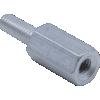 Standoff - M3, Male-Female, Aluminum, 5.5mm Diameter image 1