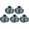 Nut - T-Nut, Zinc, for fastening metal to wood or plastic image 1