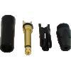 "1/4"" Plug - Neutrik, black plastic, gold contacts image 4"