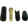 "1/4"" Plug - Neutrik, black plastic, gold contacts image 2"