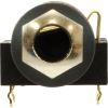"Jack - Rean , 1/4"", Mono, 2-Pole Horizontal, Switched, PC, Gold Plated Contacts  image 2"