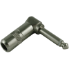 """1/4"""" Plug - Switchcraft, cable-mount, right-angle image 1"""