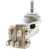 Switch - Switchcraft, Pickup Selector Toggle, 3 Pos, Nickel Finish, Right Angle image 3